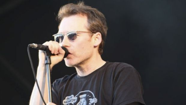 Jim Reid, singer of the Jesus and Mary Chain.