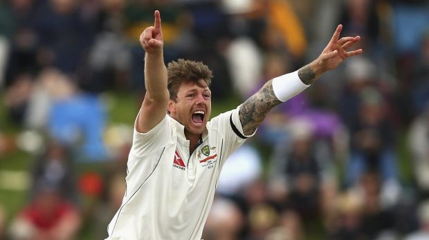 Out of luck: James Pattinson