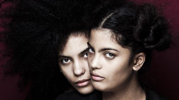 Ibeyi twins Lisa-Kainde and Naomi. Ibeyi means twins in Yoruba.