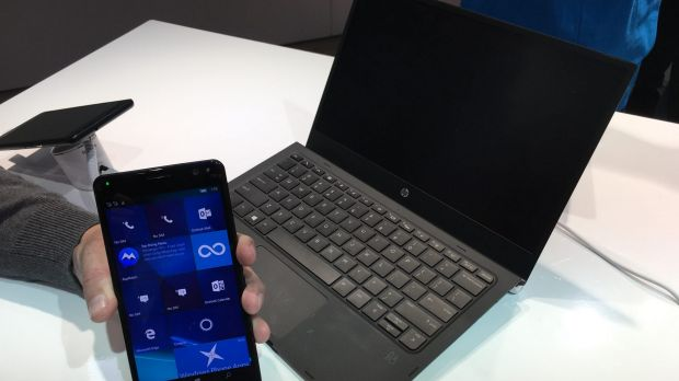 On the go, you can get the big screen experience by connecting to the laptop-like Mobile Extender, wirelessly or with a ...