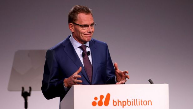 BHP Billiton CEO Andrew Mackenzie has had to deal with an oil price rout.