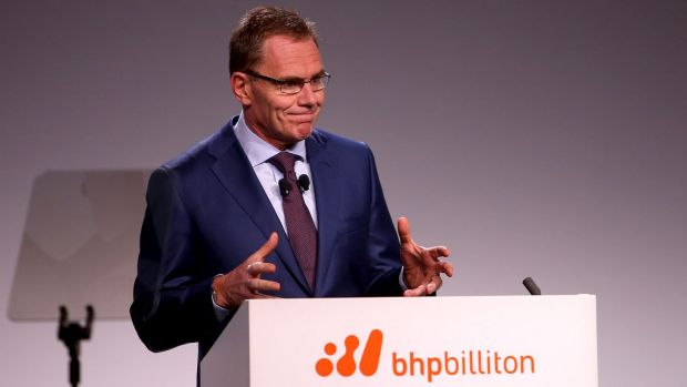 BHP Billiton CEO Andrew Mackenzie says even though the board saws trends signalling the end of the China-driven ...