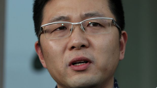 """PUP Senator Zhenya 'Dio' Wang """"disappointed"""" by the inaction of the Turnbull government."""