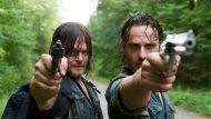 Daryl (Norman Reedus) and Rick (Andrew Lincoln) are among the 11 who face the wrath of Negan.
