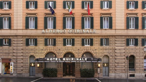 Cardinal George Pell will give evidence at the Hotel Quirinale in Rome.