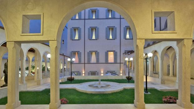 The Archdiocese of Sydney owns the Domus Australia guest house in Rome.