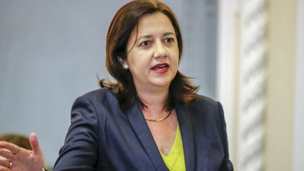 Qld's premier says it's irresponsible for PM to withhold details of possible cuts to state hospital funding.