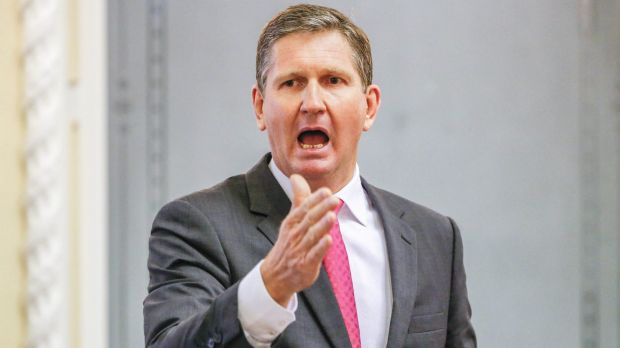 Opposition Leader Lawrence Springborg has had a troubled start to 2016.
