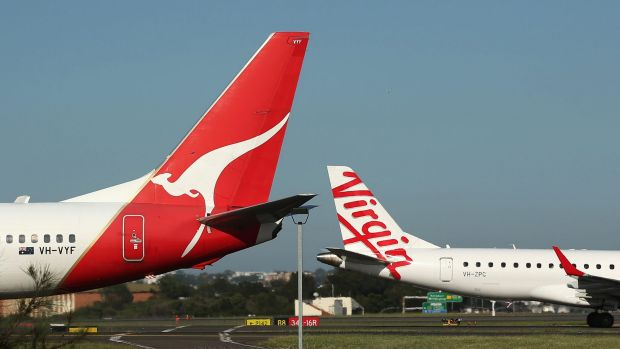 Qantas believes there is a competitive advantage in being the first domestic carrier to offer Wi-Fi in flight.