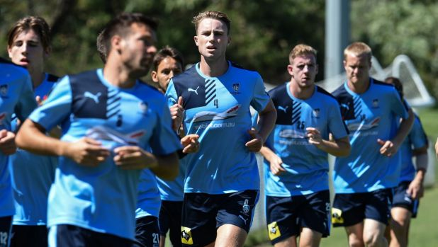 Man in the middle: Zac Anderson will get a start for Sydney FC.