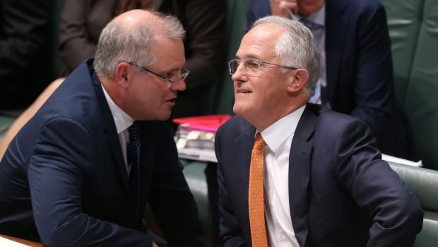 Prime Minister Malcolm Turnbull and Treasurer Scott Morrison.