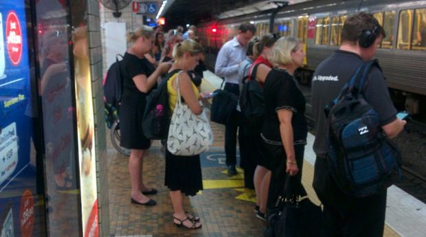 Brisbane train commuters are increasingly finding themselves crammed in to crowded carriages.