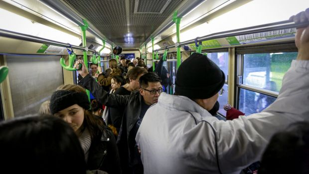 Modifications on trams are being studied to see if they can be made safer for elderly passengers.