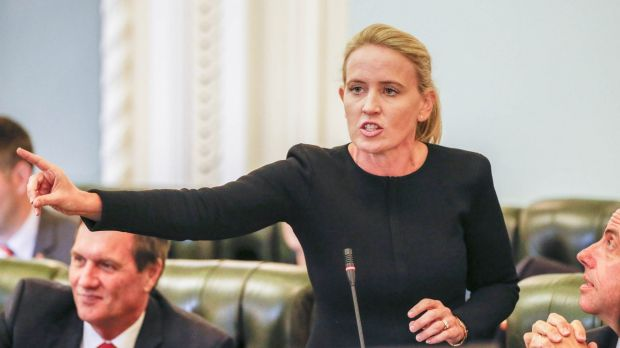 Queensland Education Minister has accused her opposition counterpart of 'dog whistling' over its stance on the Safe ...