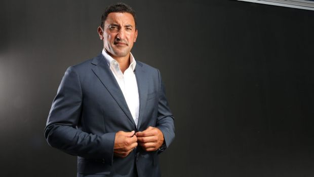 Man of influence: New coach Daryl Gibson is ready to put his stamp on the Waratahs.