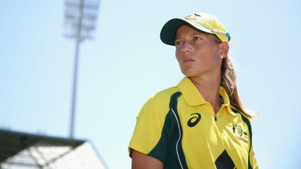 Meg Lanning top scored for the Aussies.