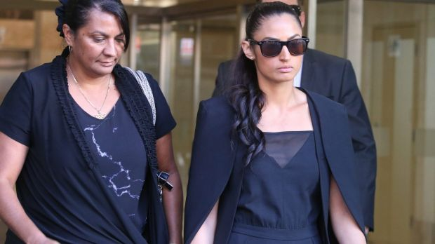 Nova Peris was with her daughter Jessica in court for the hearing.