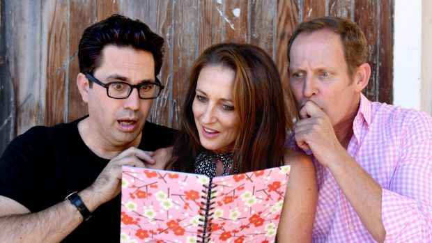 Chris Taylor, Georgie Parker and Todd McKenney will share revelations from their adolescent years.