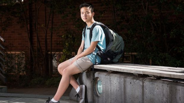 Erik Ly, 18, is a youth peer leader at Drummond Street Services, which has reported a spike in demand from LGBTI young ...