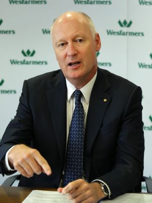 Wesfarmers managing director Richard Goyder.