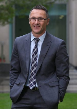 Greens leader Richard Di Natale.
