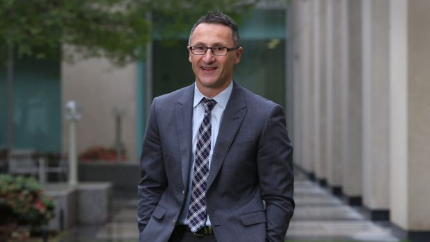 """Richard Di Natale: """"He refuses to sit in the crazy basket."""""""