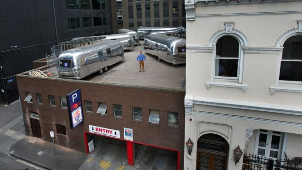 Six Airstream trailers are ready to be turned into five-star accommodation.