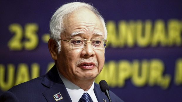"""""""If I had wanted to rob, I would have robbed the forest here long ago,"""" Malaysian Prime Minister Najib Razak said."""