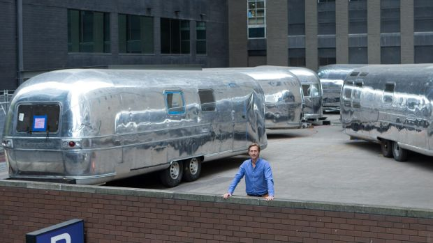 James Fry is turning the rooftop of Fry's Fast Park into a ''Notel'' with Airstreams.