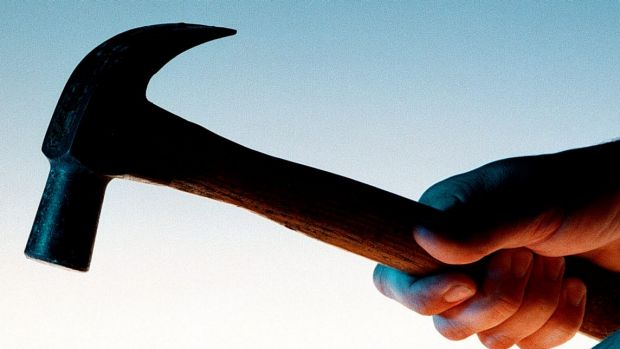 A Gympie man drove himself home after being attacked with a hammer, a court has been told.