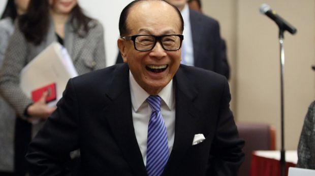 China's second-richest man is Li Ka-shing, chairman of Cheung Kong Holdings and Hutchison Whampoa.