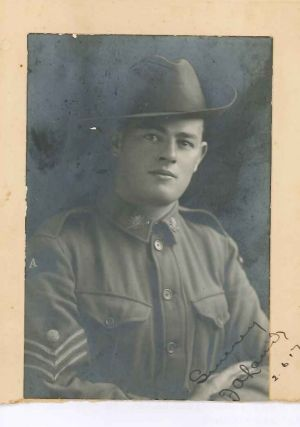 David Laird's grandfather, Fred Laird, in 1916.