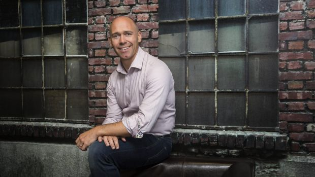 MYOB chief executive Tim Reed after the company's half year results announcement on Thursday.