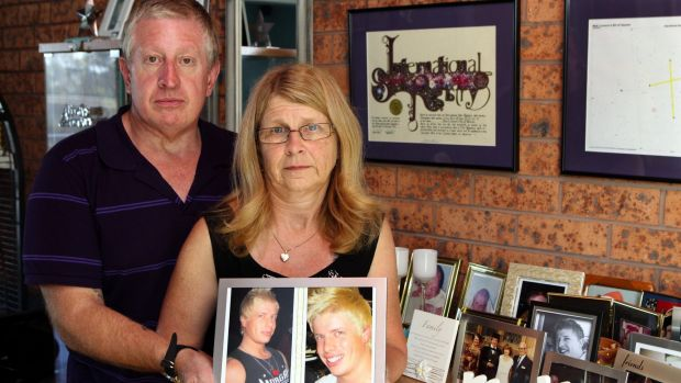 Matthew Leveson's parents Mark and Faye Leveson.