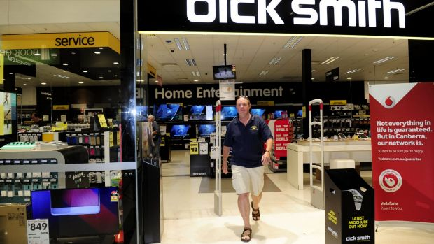 Long-time Dick Smith customer Brice Hooper said he was saddened by the demise of the Australian brand.