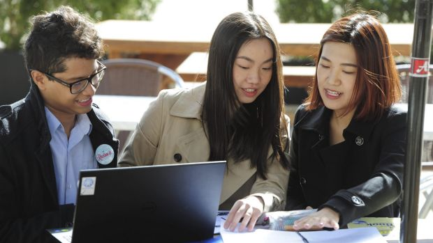 Canberra will be home to more than 9000 international students this year, but a limited job market is a factor in a ...