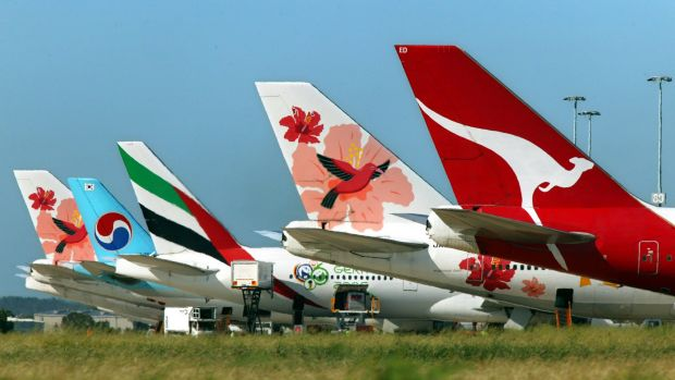 Macquarie is re-financing the aircraft fleet it purchased from AWAS.