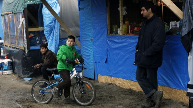 About 445 children live in the area of the camp that will be cleared, says one refugee group.