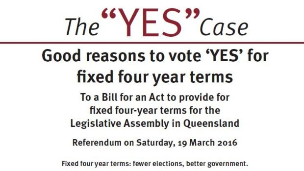"""The """"Yes"""" campaign has failed to get traction among the public."""