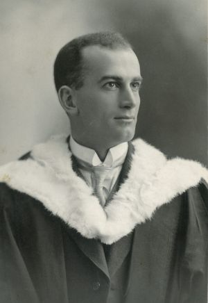 Arch Hoadley, first principal of Footscray Technical School. His aim was to give the same opportunities to young ...