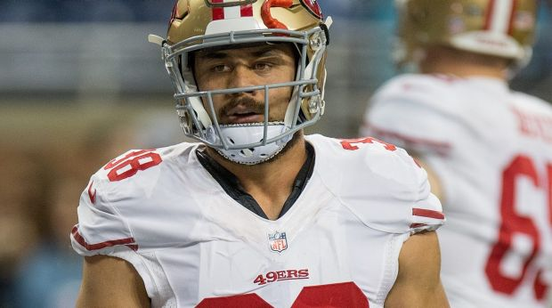 Reality check: Jarryd Hayne will have his work cut out catching Chip Kelly's eye.