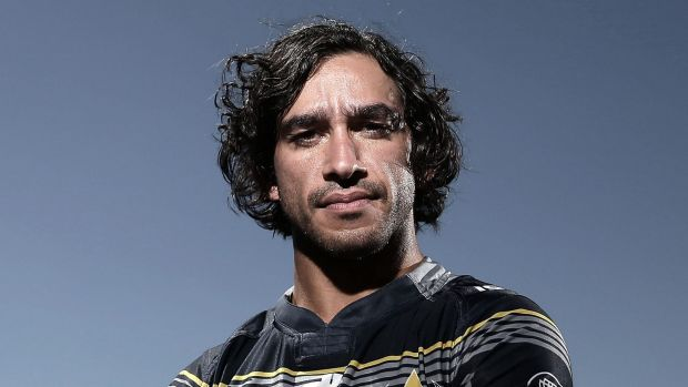 Face of the game: Cowboys captain Johnathan Thurston handled the NRL season launch with confidence and aplomb this week.