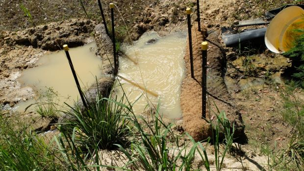 Residents say systems are inadequate to deal with the water run-off from the dump.
