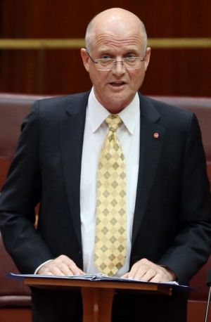 Set to vote for a second reading of the ABCC bill: David Leyonhjelm.