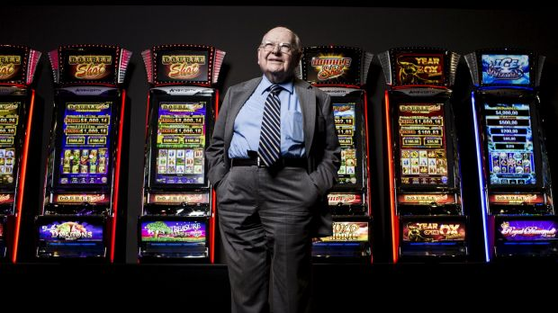 Len Ainsworth, 92, is selling his $500 million stake in Ainsworth Game Technology, the pokie machine-making company he ...