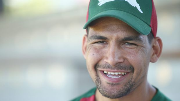 Exciting times: Cody Walker will make his NRL debut for the Rabbitohs against the Roosters.