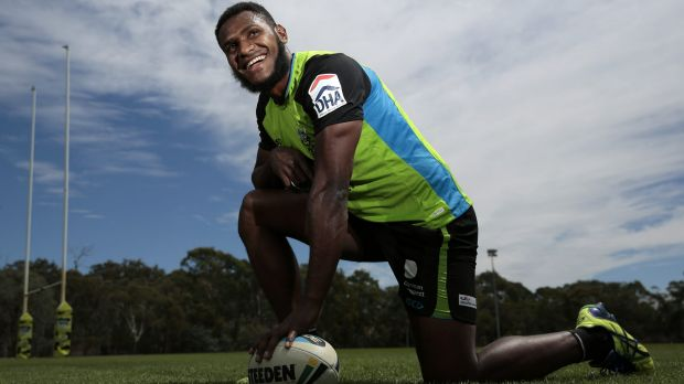The Canberra Raiders have signed PNG international Kato Ottio on a two-year contract.