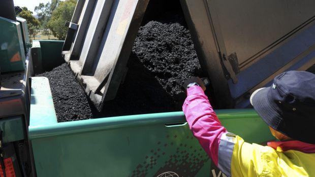 The new asphalt mix is being tested in Kelleway Avenue in Nicholls.