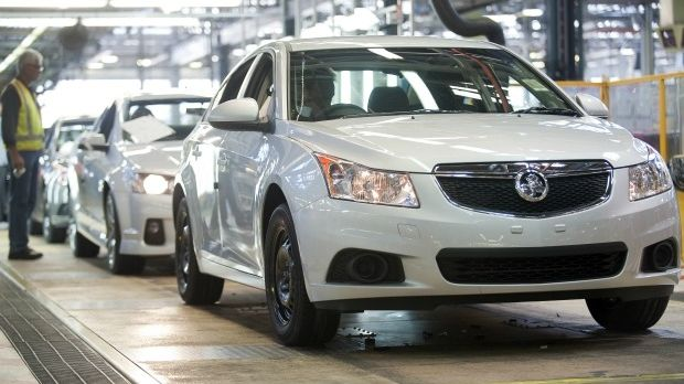 Production of the Holden Cruze will cease about a year ahead of the Commodore.