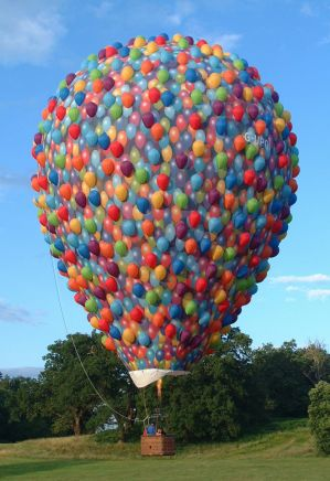 A hot air balloon inspired by the Disney movie Up is coming for the Canberra Balloon Spectacular.